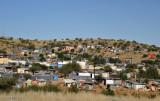 Slums west of Windhoek