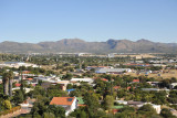 View from the Heinitzburg Hotel, Windhoek
