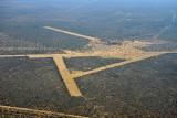 Runways along the road C31 northeast of Windhoek