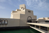 The Museum of Islamic Art sits on an artificial island in Doha's bay