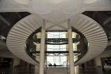 Double staircase of the Museum of Islamic Art