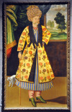 Portrait of man in Turkish dress, Iran 1680-90