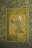 A Kneeling Youth attributed to Mirza 'Ali, Iran ca 1565
