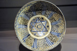 Syrian bowl, 14th C. fritware