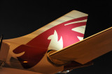 Qatar Airways A330 at DOH, night