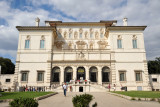 The Galleria Borghese is housed in the 16th C. Villa Borghese Pinciana