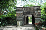 Fort Gate, Fort Canning Park, Singapore