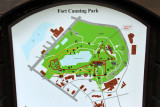 Map of Fort Canning Park, Singapore