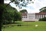 Fort Canning Centre across Fort Canning Green, Singapore