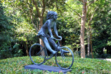 Girl-On-A-Bicycle, Singapore Botanical Garden