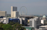 View of the Singapore Flyer from Novotel Clarke Quay
