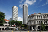 Stamford House and towers of Raffles City