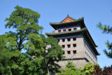 Southeast Corner Tower of the City Wall around the ancient city of Beijing
