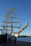 The Barque Cuauhetemoc, launched in 1982