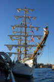 Mexican Tall Ship Cuauhtemoc launched in 1982