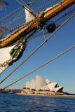 Cuauhtemoc with the Sydney Opera House