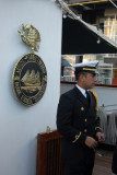 Mexican naval officer on the Cuauhtemoc