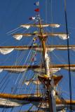 Masts of the Cuauhtemoc