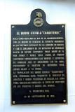 History plaque on the Cuauhtemoc