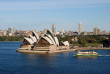 View from Sydney Harbour Bridge