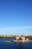 View from Sydney Harbour Bridge - big sky