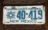 1940 New Mexico license plate