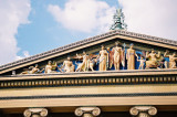 Pediment of the Philadelphia Museum of Art