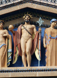 Zeus flanked by Aphrodite and Demeter