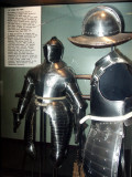 Armor of the type that may have been at Jamestown in 1607