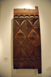 Carved wood door, Igbo people, Nigeria, 20th C.