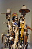 Sculpture group, Igbo people, Nigeria, 20th C.