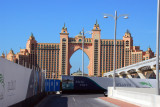 Atlantis the Palm in December 2008, shortly after opening