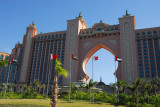 The front view of the Atlantis facing out to the Gulf