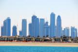 Towers of Dubai Marina from the Atlantis