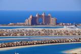 The Atlantis on Palm Jumeirah from the Grosvenor House, Dubai Marina