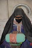 Woman embroidering, Dubai Museum