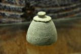 Chlorite vessel decorated with incised geometrical designs from Al Qusais, 2nd Millennium BC