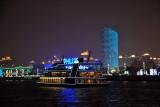 The Philips boat cruising the Huangpu River