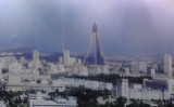 ...wonder if they've finished the glass work on the Ryugyong Hotel