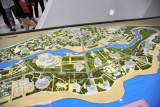 Model of the National Tourist Zone, Ashgabat, Turkmenistan