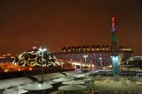 Asia Square - India and Saudi Arabia Pavilions