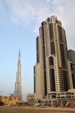 Executive Towers B and Burj Khalifa