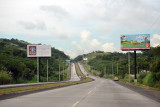 Via Centenario, a highway linking Panama City with Arraján