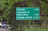 Esclusas de Miraflores, the first set of locks on the Panama Canal