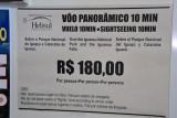 10 minute helicopter flight over Iguaçu Falls - R$180