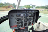 Instrument panel of Bell 206 JetRanger (PT-HOY)