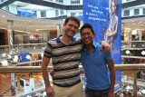Dennis and Leo at Diamond Mall, Belo Horizonte
