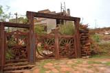 Wagon wheel gate, Lavras Novas