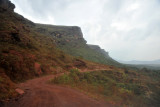 Dirt road leading to Lavras Novas