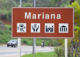 Entering Mariana, a historic old town around 10km east of Ouro Preto